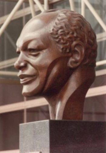 Bust of Tom Bradley